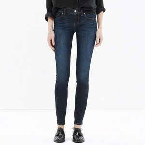 Madewell skinny skinny waterfall wash